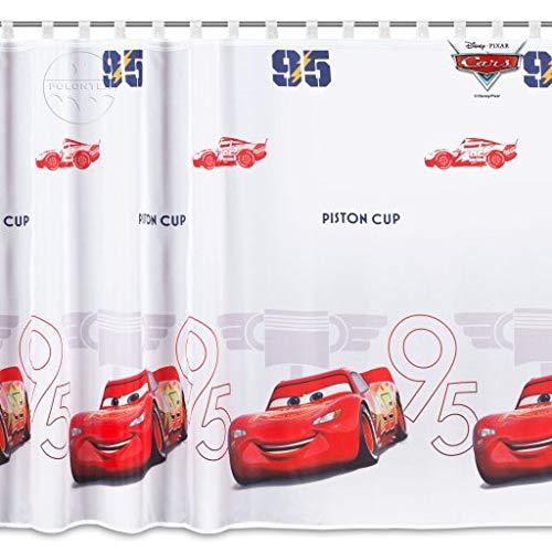 Licenza ufficiale Cartoon/ /Tenda con passanti in voile Cars 3-225/cm larghezza x 165/cm goccia