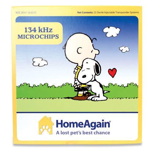 (HomeAgain 134 kHz 15 digit Universal WorldChip Microchip)
