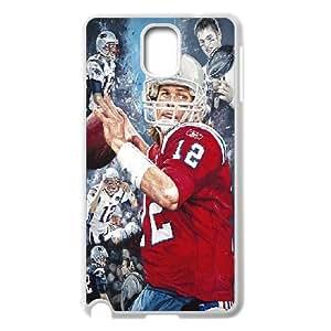 Tom Brady Series, Samsung Galaxy Note 3 Cases, Tom Brady Posters Cases For Samsung Galaxy Note 3 [White]