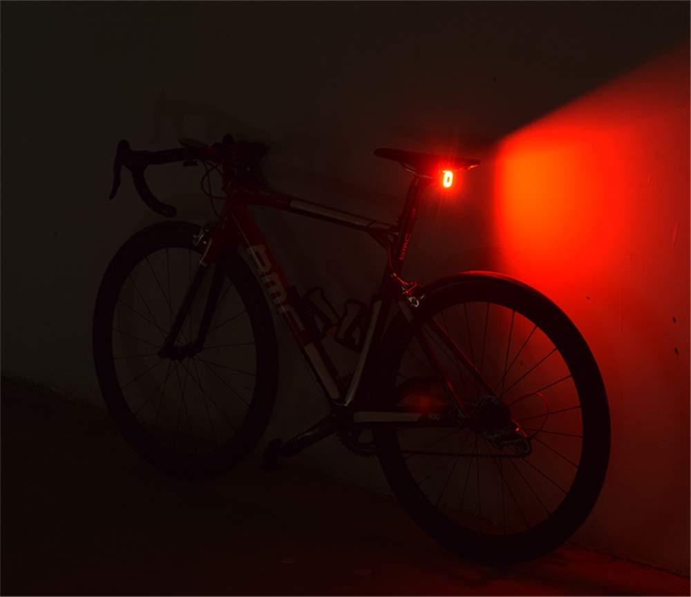 Modo de iluminaci/ón m/últiple Sunsune Luz de Bicicleta LED Recargable USB luz de Bicicleta Inteligente CUBELITE II inducci/ón de Freno IPX5 a Prueba de Agua