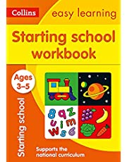Starting School Workbook Ages 3-5: Ideal for Home Learning