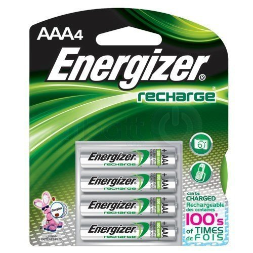 Energizer Products-Energizer-e NiMH Rechargeable Batteries, AAA, 4 Batteries/Pack by Energizer (Image #3)