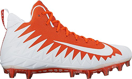 Mid Crampons orange Homme Menace Alpha Football blanc Pro Nike YxgRIw0q