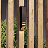 Kichler 15066AZT Deck Rail 1-Light 12V, Textured Architectural Bronze