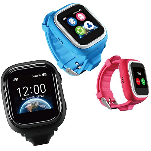NEW VERSION TickTalk 1 0S Touch Screen Kids Wearable tracker wrist Phone w/  GPS locator, Controlled by Apple and Android phone APP Including FREE Sim
