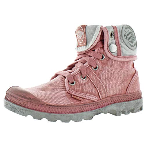 - Palladium Women's Pallabrouse Baggy Chukka Boot - Old Rose, 7.5 B(M) US