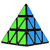 Toys : Olicity Pyramid Cube Speed Triangle Puzzle Cube, Black