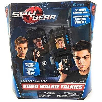 Spy Gear Ninja Video Walkie Talkies with 2-way Audio and Video: Toys & Games