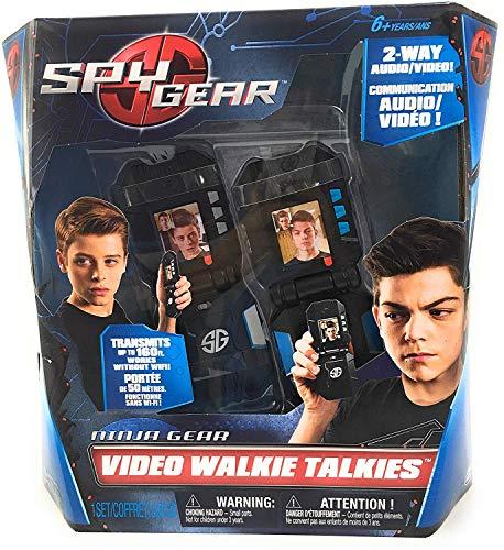 Image of the Spy Gear Ninja Video Walkie Talkies with 2-way Audio and Video