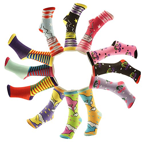 SALE 12 Pack Best Seller Silly Cute Ugly Grinch Christmas Themed Under 5 Dollars Bulk Wholesale Cool Crew Ankle Art Sock Last Minute Clearance Deal Gift Idea for Women Her Older Kid Teen Girl 2017