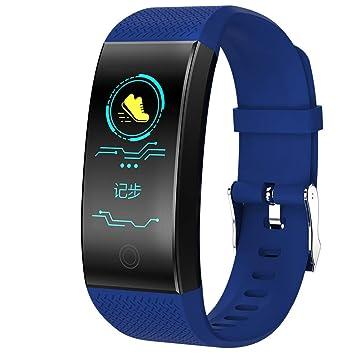 Fitness Reloj de Pulsera con pulsómetro Resistente al Agua IP68 Fitness Tracker Actividad Tracker Pulso Relojes Bluetooth Smart Reloj de Pulsera para iPhone ...