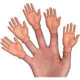 Set Of Five Finger Hands Finger Puppets