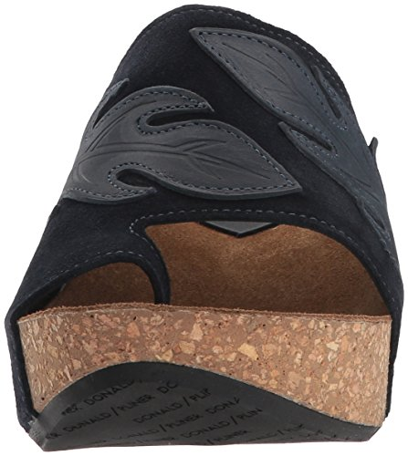 Donald J Pliner Womens Gale Slide Sandal Navy aWybCx1