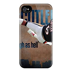 Iphone 6 Cases Covers - Slim Fit Tpu Protector Shock Absorbent Cases (chicago Bears)