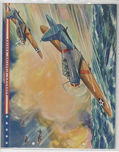 Premium Torpedo (F6-2 Dixie Cup, Premium, 1942, America's Fighting Forces, Torpedo Bomber)