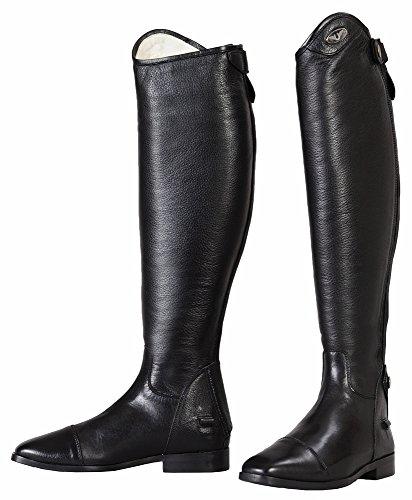 (TuffRider Ladies Wellesley X-Tall Dress Boots   Color - Black   Size - 9.5   Shape - Regular)
