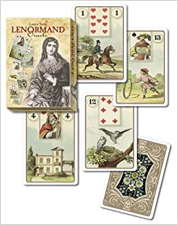 Lenormand Oracle Kit: 36 full colour cards & 160pp book by ...