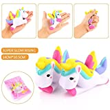 Good 12cm Squeeze Squishy Unicorn Slow Rising Simulation Stress Stretch Restore Toys