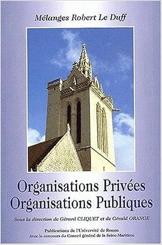 Livres Organisations privées, organisations publiques. Mélanges Robert Le Duff epub, pdf