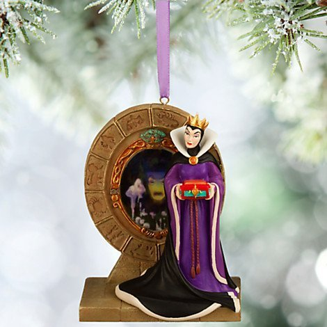 Disney 2015 Sketchbook Evil Queen and Magic Mirror Christmas Ornament Holiday Tree by Disney by Disney Sketchbook