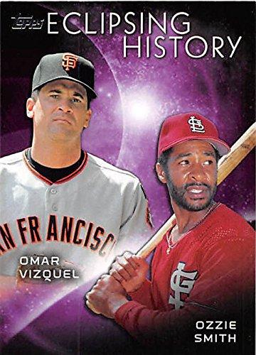 Vizquel baseball card (Cardinals Giants Gold Glove Shortstops) 2015 Topps #EH4 ()