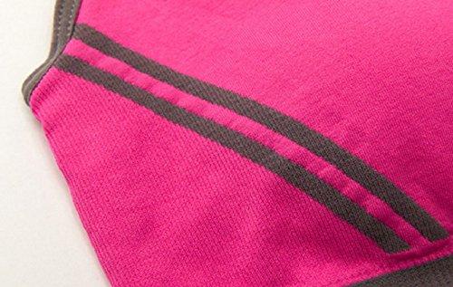 Gilet Rembourré Distances Rosa Sport Sportif gorge Madame Studio Top Yoga Soutien Amison Confortable Fitness nqZw0xFgw
