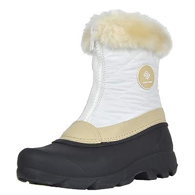 DREAM PAIRS Women's Hunter Mid Calf Winter Snow Boots   Snow Boots