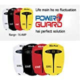 Sukam Power Guard 16Amp Voltage Stabilizer Protects from Frequency Variations, High and Low Voltage, Spike and Surge, (Black)