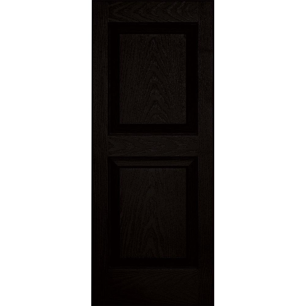 Vantage 3114035002 14X35 Raised Panel Shutter/Pair 002, Black The TAPCO Group - DROPSHIP