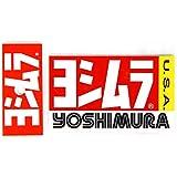 ヨシムラ(YOSHIMURA) USヨシムラ ステッカー 9.5x5.7cm 2PCS 908-00017020