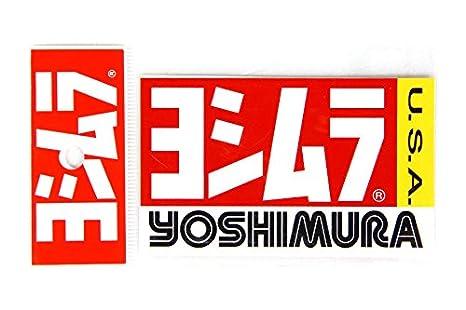 Yoshimura yoshimura us yoshimura stickers 9 5x5 7cm 2pcs 908 00017020