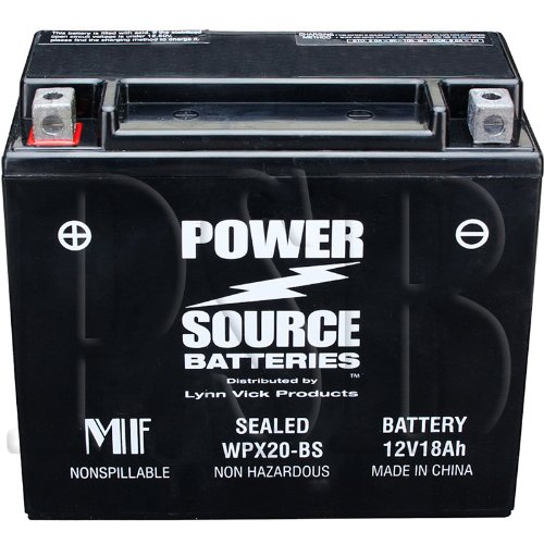 YTX20H-BS-YTX20H-YTX20-BS-YTX20-GYZ20H-0745-047-0645-480-0645-170-Replacement-Battery-375cca-High-Performance-WPX20-BS-Sealed-AGM-for-Arctic-Cat-Honda-Motorcycle-ATV-Snowmobile