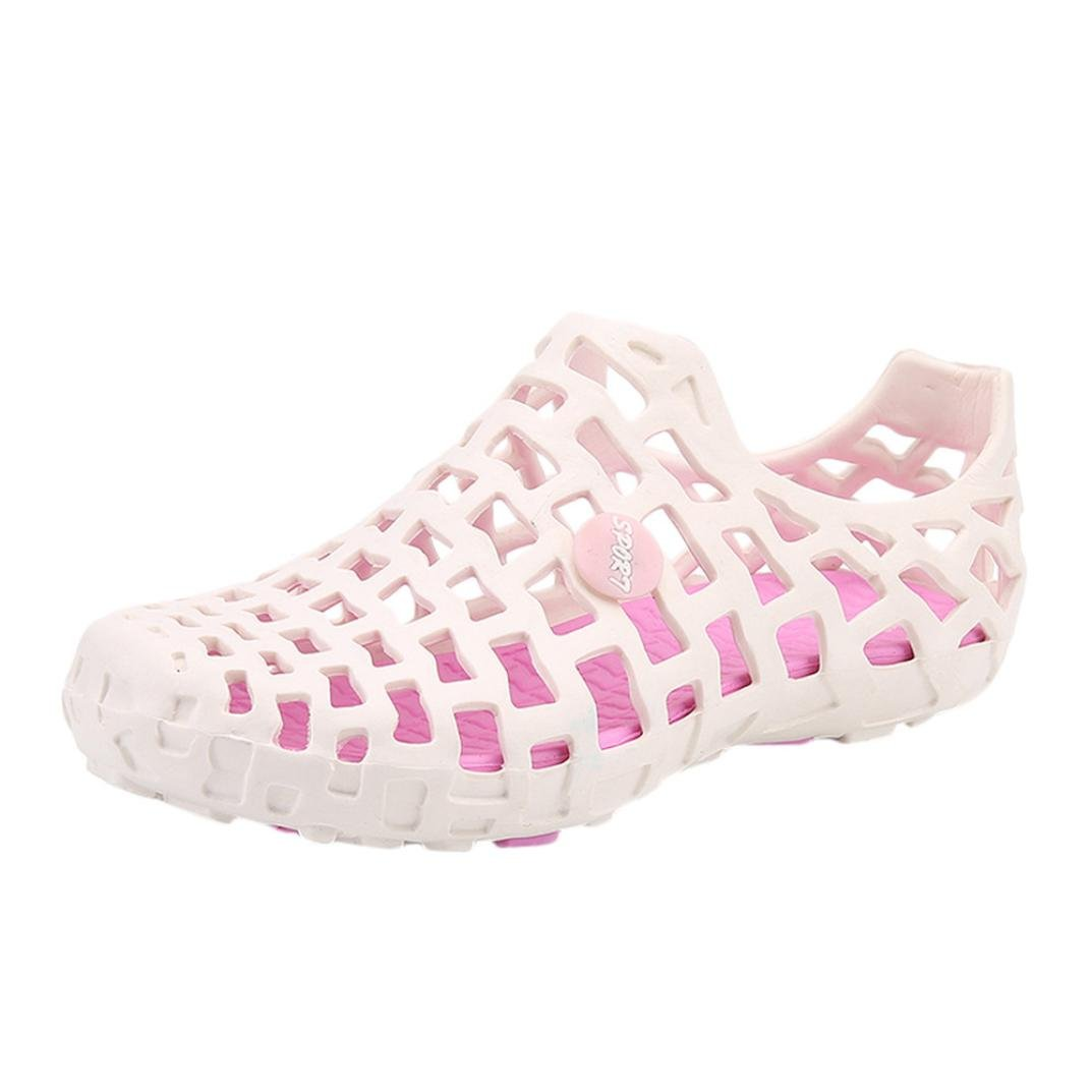 Unisexe Flip Flops Casual Sandale Sneakers à Chaussures Enfiler à Femme Homme,Overdose Été Chaussures Plage Tennis Slip on Sneakers Rose 5330b59 - therethere.space