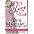 The Love List (Half Moon House Book 1)