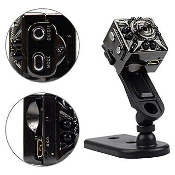 ZHONGYU 1080P Mini cámara espía Oculta endoscopio Digital, portatil HD Cubierta cámara de Seguridad visión Nocturna cámara de detección de Movimiento para ...