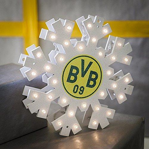 BVB Borussia Dortmund WEIHNACHTSSTERN Deko für Weihnachten Neuheit 2015 / 2016