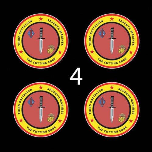 Marines USMC 3rd Battalion 7th Marines SSI 3