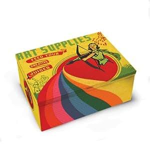Blue Q Art Supplies Cigar Box