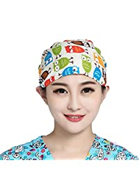 Women's and Men's Scrub Cap Surgery Hat for Doctors Nurses Scrub Hat One Size