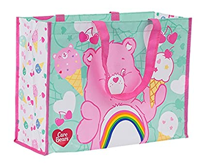 36b010332 Image Unavailable. Image not available for. Color: Vandor Care Bears Large  Recycled Shopper Tote ...
