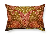 Bohemian Pillowcover 16 X 24 Inches / 40 By 60 Cm For Couch Deck...