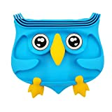 WB. Multifunction Silicone Dashboard Anti-Slip Phone Holder,Pad Stands Dash Mat Car Mount Holder, Cell Phone Cradle Dock, GPS Mount Cute Owl Design, As A Gift To Friend Or Families (Blue)
