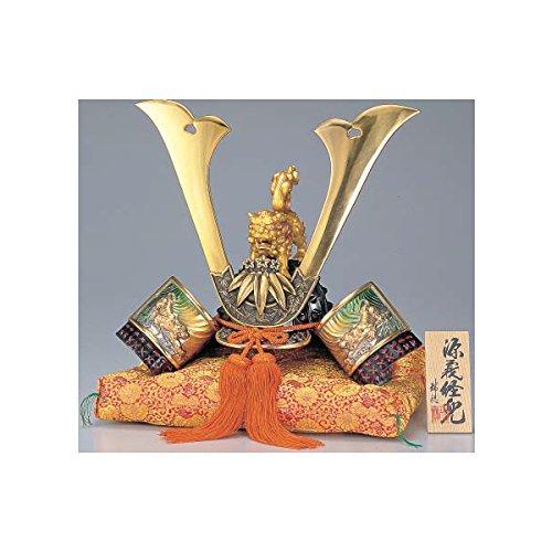 [Premium] Japanese Samurai Kabuto helmet - Minamoto no Yoshitsune - with cushion, box, tag - Japan import [Standard ship by EMS with Tracking number & Insurance]