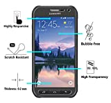 [2 Pack] iVoler [Tempered Glass] Screen Protector for Samsung Galaxy S6 Active, [0.2mm Ultra Thin 9H Hardness 2.5D Round Edge] with Lifetime Replacement Warranty
