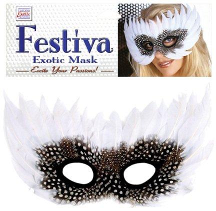 Festiva Exotic Mask - White SKU-PAS1030902