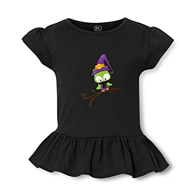 a6098e7d703 Amazon.com  Magic Owl Branch Short Sleeve Toddler Cotton Girly T-Shirt Tee   Clothing