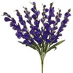 30-Gladiolus-Bush-Silk-Wedding-Bouquet-Flowers-8-stem-Purple
