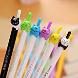 TryTry 8pcs Cute Novelty Kawaii Cool Cartoon Lovely Animal Cat Design 2B Mechanical Pencils Set Gifts Prizes For Kids Boys Girls School Students Kindergarten
