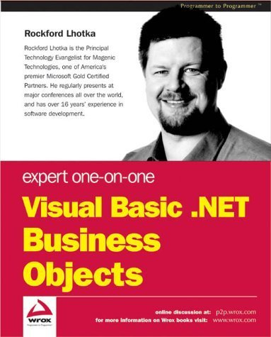 Expert One-on-One Visual Basic .NET Business Objects by Wrox Author Team - Shopping Rockford Mall