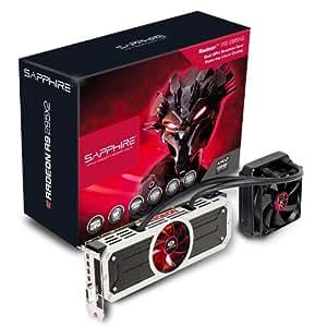 Sapphire Radeon R9 295X2 8GB GDDR5 DVI-D Quad Mini DP PCI-Express Graphics Card 21234-00-40G